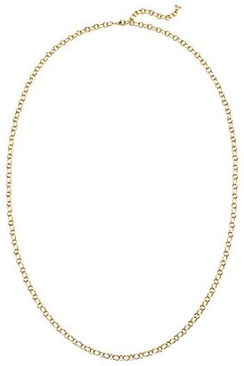 Temple St. Clair 18K Yellow Gold Ribbon Necklace Chain