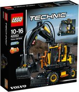 Lego Technic Upgradable Volvo EW160E 42053