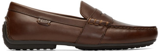Polo Ralph Lauren Brown Reynold Driver Loafers