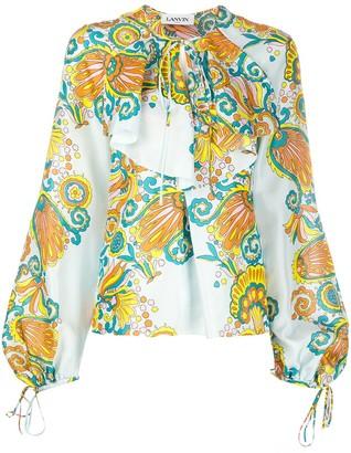 Lanvin Floral Print Blouse