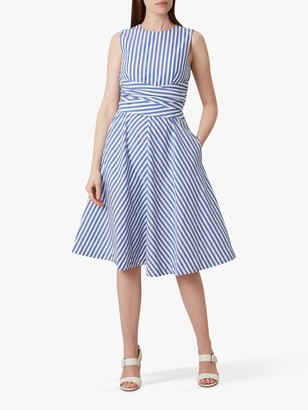Hobbs Twitchill Linen Dress