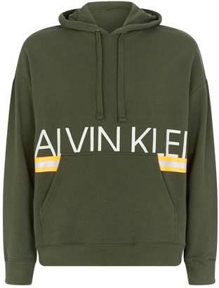 Calvin Klein Neon Logo Hoodie