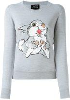 Markus Lupfer sequined rabbit jumper