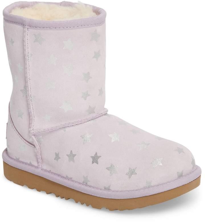 UGG Classic Short II Water Resistant Stars Boot