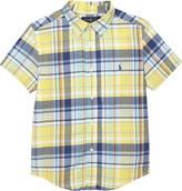 Ralph Lauren Checked cotton short-sleeved shirt 2-7 years