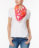 Echo Parisian Plaid Reversible Triangle Scarf