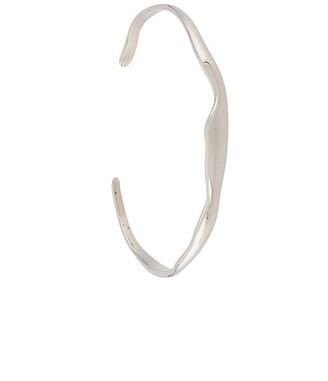 Bar Jewellery wide Ripple cuff bracelet