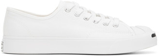 Converse White Jack Purcell First In Class OX Sneakers