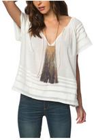 O'Neill Women's Veda Short Sleeve Blouse