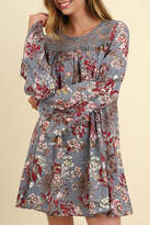 Umgee USA Bell Sleeve Floral