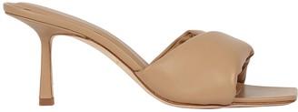Studio Amelia 3.33 Leather Slide Sandals