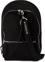 Rick Owens zipped backpack - men - Cotton/Polyester - One Size