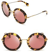 Noir Round Sunglasses
