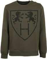 Hydrogen Man Military Green Sweater