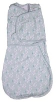 Summer Infant SwaddleMe® Love Sack Swaddle Wrap - Teal Triangles (S/M, 0-4mo)