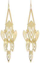 Jules Smith Designs Geometric Chandelier Earrings