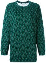 Au Jour Le Jour snakes print sweatshirt