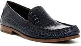 Donald J Pliner Nate Croc Embossed Loafer