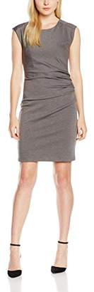 Kaffe Women's India Slim Dress, Grau (Dark Grey Melange 500), 42 (Manufacturer's Size: XL)