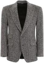 Dolce & Gabbana Chevron Wool Blazer