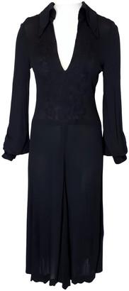 Ted Lapidus Black Silk Dress for Women