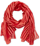 Altea Orange Stripe Scarf