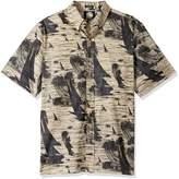 Reyn Spooner Men's Cotton Classic Fit Button Front Hawaiian Shirt