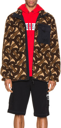 Burberry Track Jacket in Bridle Brown | FWRD