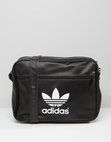 Adidas Originals Satchel In Black Aj8203
