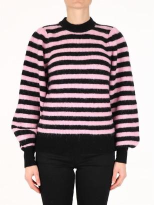 Ganni Soft Wool Striped Sweater