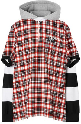 Burberry Zip-Up Hooded Jacket
