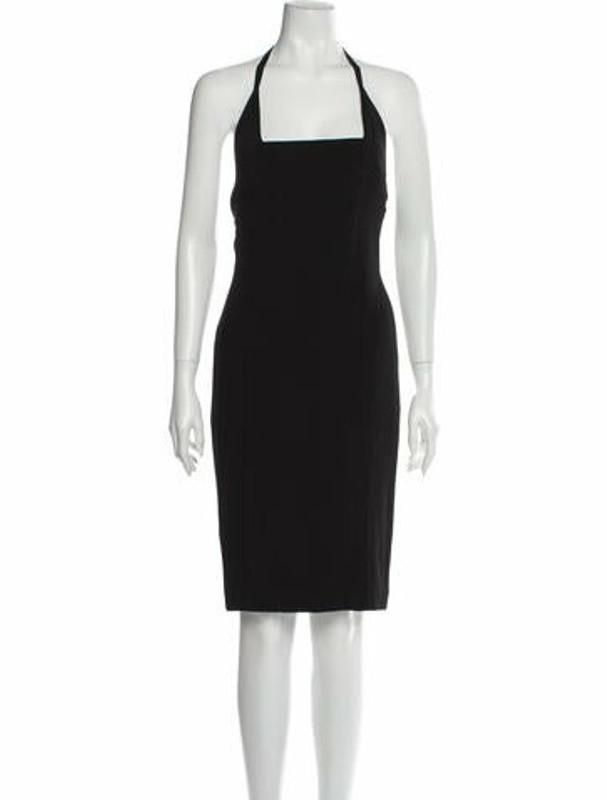 Narciso Rodriguez 2016 Knee-Length Dress Black