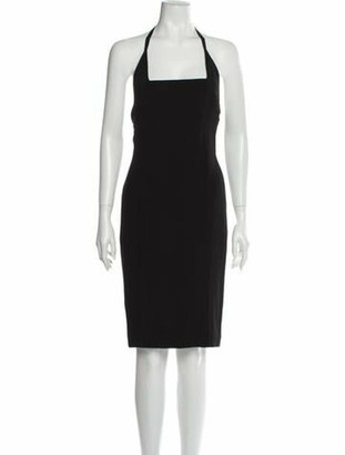 Narciso Rodriguez 2016 Knee-Length Dress Black