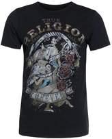 True Religion Pin Up Print Tshirt Black