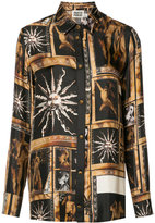 Fausto Puglisi art print shirt - women - Silk - 42