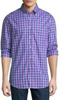 Brunello Cucinelli Plaid Cotton Sport Shirt