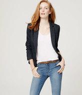 LOFT Petite Tweed Blazer