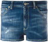 Dondup denim shorts - women - Cotton/Polyester/Spandex/Elastane - 26