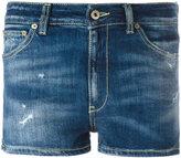 Dondup denim shorts - women - Cotton/Spandex/Elastane/Polyester - 26