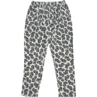 Stella McCartney Stella Mc Cartney \N White Silk Trousers