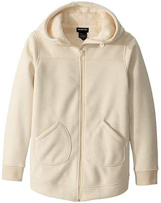 Burton Minxy Full Zip Jacket (Little Kids/Big Kids) (Creme Brulee Heather) Girl's Clothing