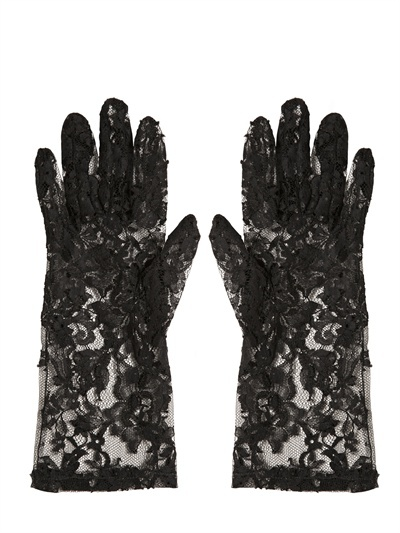 Dolce & Gabbana Lace Gloves