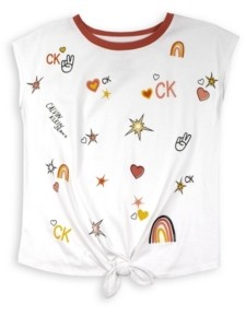 Calvin Klein Big Girls Whimsy T-shirt
