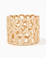 Charming charlie Matte Chain Stretch Bracelet