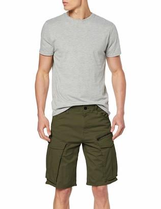 G Star Men's Rovic Zip Straight Tapered Short