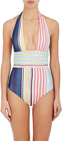 Missoni Mare Women's Striped One-Piece Halter Swimsuit