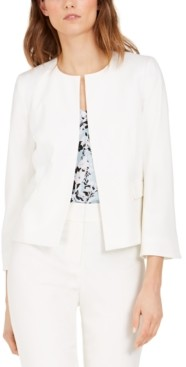 Nine West Flare-Sleeve Jacket