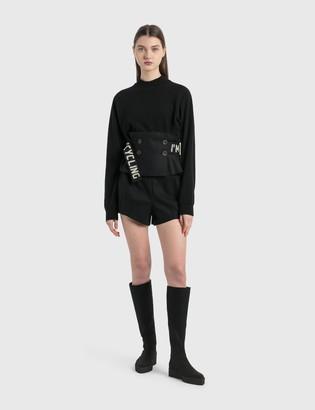 Emporio Armani R-EA Show High Rise Shorts