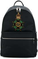 Dolce & Gabbana Maltese cross 'Vulcano' backpack - men - Polyurethane/Velvet - One Size