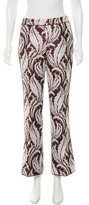 Giambattista Valli Jacquard Wide-Leg Pants w/ Tags
